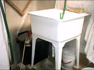 Plastic+Shop+Sink Plastic Sink Rock tumbling -- my tumbler shop