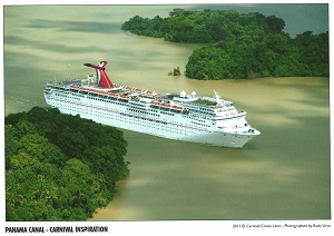 Carnival Inspiration in Panama Canal